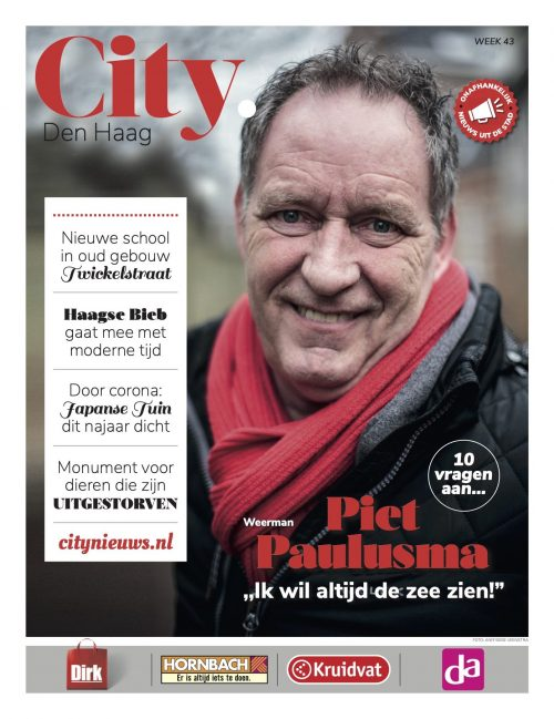 Piet paulusma in City